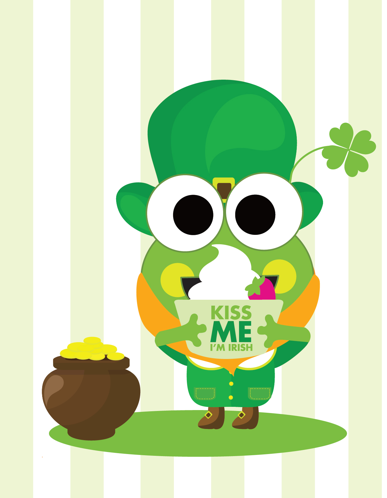 1000+ images about St. Patrick's Day Froyo on Pinterest ...